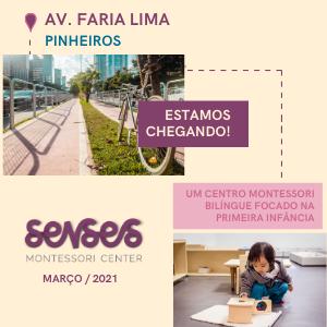Senses Montessori Center - Av. Faria Lima, Pinheiros